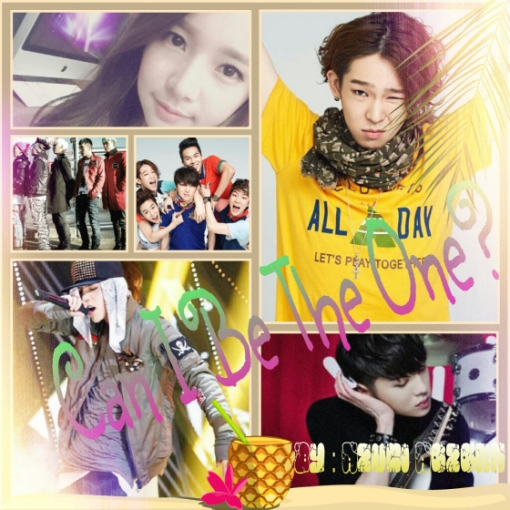 Poster can i be the one